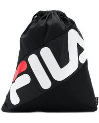 Fila - Drawstring Logo Backpack - Lyst