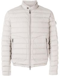Moncler - Tab-over Collar Down-filled Jacket - Lyst