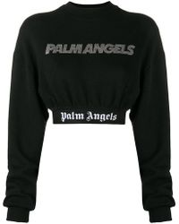 Palm Angels - Cropped Sweater - Lyst