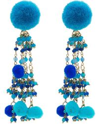 Rosantica - Alchimia Earrings With Bead Embellishment - Lyst