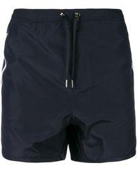 Neil Barrett - Stripe Swim Shorts - Lyst