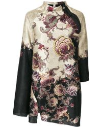Antonio Marras - Asymmetric Printed Jacket - Lyst