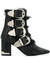 Toga Pulla - Side Buckle Boots - Lyst
