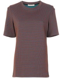 Marni - China Print Sweatshirt - Lyst