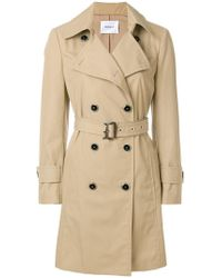 Dondup - Belted Trench Coat - Lyst