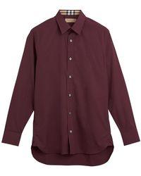 Burberry - Longsleeved Shirt - Lyst