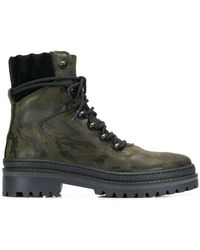 Tommy Hilfiger - Camouflage Hiking Boots - Lyst