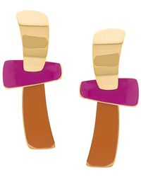 Lizzie Fortunato - Totem Statement Earring - Lyst