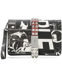 Prada - Comic-print Wristlet Clutch Bag - Lyst