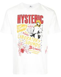 Hysteric Glamour - Hysteric T-shirt - Lyst
