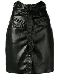 Nanushka - Horned Waist Mini Skirt - Lyst