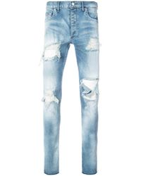 Fagassent | Distressed Skinny Jeans | Lyst