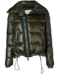 Sacai - Zipped Padded Jacket - Lyst
