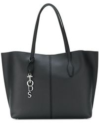 Tod's | Large Round Top Handle Shoulder Bag | Lyst