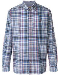 Napapijri - Scottish Print Cotton Shirts - Lyst