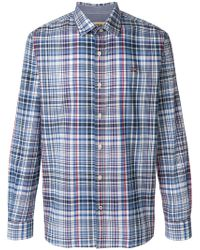 Napapijri - Checked Shirt - Lyst