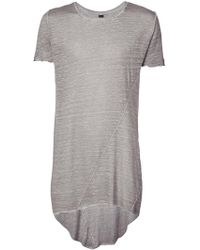 Army Of Me - Longline T-shirt - Lyst