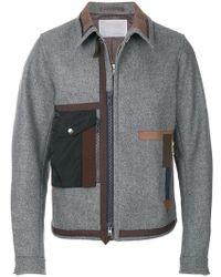 Kolor - Fitted Flap Pocket Jacket - Lyst
