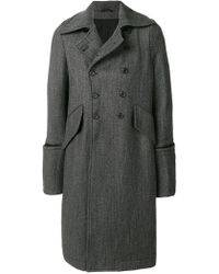 Ann Demeulemeester | Double-breasted Coat | Lyst