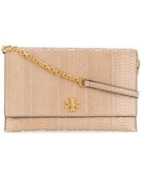 Tory Burch - Kira Snake Clutch Bag - Lyst