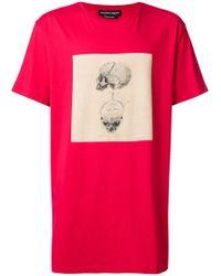 Alexander McQueen - Oversized Printed T-shirt - Lyst