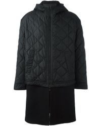 Neil Barrett - Padded Jacket Coat - Lyst