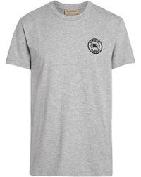 112b65df Burberry Reissued 1995 Rainbow Logo T-shirt in White for Men - Lyst