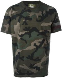 Valentino - Camouflage T-shirt - Lyst