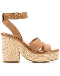 UGG - Carine Wedge Sandals - Lyst