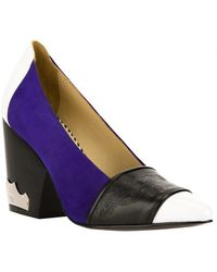 Toga - Contrast Wedge Pump - Lyst