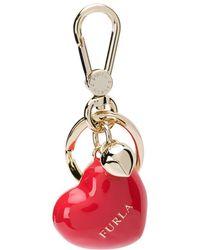 Furla - 3d Heart Keychain - Lyst