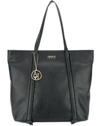 Armani Jeans - Piped Detail Shoulder Bag - Lyst
