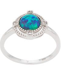 V Jewellery Opal Ring