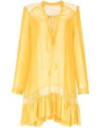 Martha Medeiros - Wide Dress - Lyst