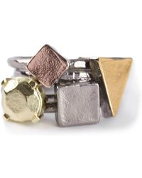 Bjorg - 'picasso Face' Rings - Lyst