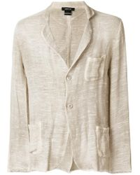 Avant Toi - Classic Fitted Blazer - Lyst