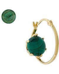 Iosselliani - Puro Reversed Malachite Earrings - Lyst
