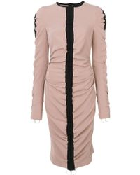 Marco Bologna - Ruched Detail Dress - Lyst