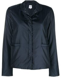 Aspesi - Concealed Front Jacket - Lyst