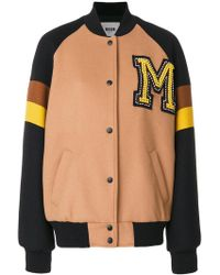MSGM - College Bomber Jacket - Lyst