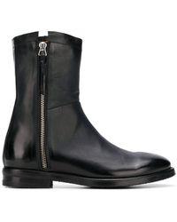 Alberto Fasciani - Side Zip Boots - Lyst