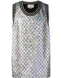 a73c0e22aea2 Men's Gucci Sleeveless t-shirts Online Sale - Lyst