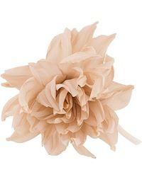 Erika Cavallini Semi Couture - Large Flower Brooche - Lyst