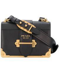 Prada - Borsa A Spalla 'cahier' - Lyst