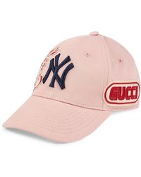 Gucci - Baseball Cap With Ny Yankeestm Patch - Lyst