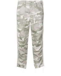 Mother - Camouflage Print Trousers - Lyst
