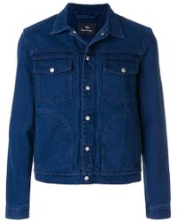 PS by Paul Smith - Casual Denim Jacket - Lyst