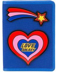Yazbukey - Heart Passport Holder - Lyst