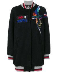 Katya Dobryakova - Embroidered Bird Bomber Jacket - Lyst