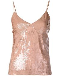 Pinko - Sequinned Top - Lyst